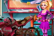 game Girls Fix It - Barbie Spy Motorcycle