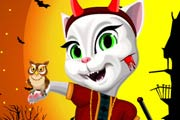 game Halloween Talking Angela Dress Up