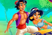 game Jasmine And Aladdin Kissing
