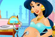 game Jasmine Pregnant And Care Baby