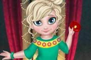 game Little Elsa Christmas Look