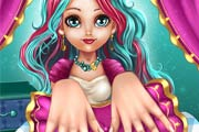 game March 8th Manicure Madeline Hatter