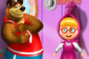 game Masha And The Bear Dress Up