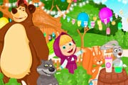 game Masha And The Bear Summer Fun