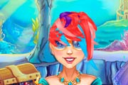 game Mermaid Princess Real Haircuts
