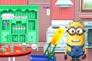 Minion Kitchen Makeover