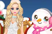 game Modern Elsa Winter Fashion