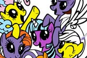 game My Little Pony Online Coloring