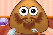 game Pou Beard Salon