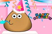 game Pou Birthday Party