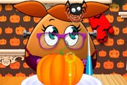 game Pou Girl Pumpkin Pie