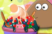 game Pou Ice Cream Shop