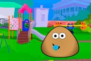 game Pou Kindergarten