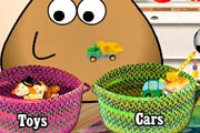 game Pou Washing Toys