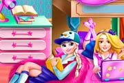 game Princess College Dorm Deco