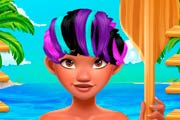 game Princess Moana Real Haircuts