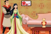 game Princess Mulan Wedding Doll House