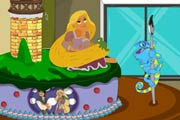 game Princess Rapunzel Cake