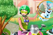game Princess Scooter Ride