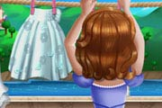 game Princess Sofia Laundry Day