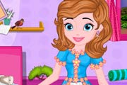 game Princess Sofia Messy Bedroom Cleaning