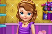 game Princess Sofia Tanning Solarium