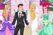 game Princesses At Barbie`s Wedding