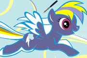 game Rainbow Dash Coloring