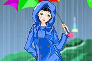 game Rainy Days Dress Up