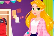game Rapunzel Art School