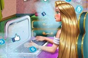 game Rapunzel Realife Shopping Girls