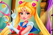 game Rapunzel Sailor Moon Cosplay