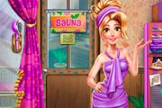 game Rapunzel: Sauna Room