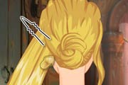 game Rapunzel Wedding Braids School