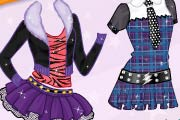 game Rapunzel`s Monster High Costumes
