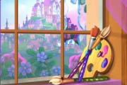 game Rapunzel`s Painting Room