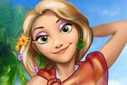 game Rapunzel`s Weekend On The Beach