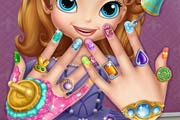 game Sofia The First Nail Spa