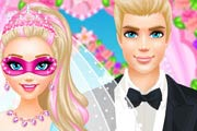 game Super Barbie Luxury Wedding