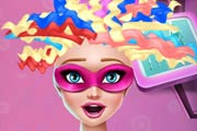 game Super Barbie Real Haircuts