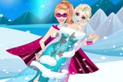 game Super Barbie Rescue Elsa Doctor