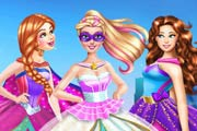 game Super Barbie Wedding Dress Up