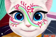 game Talking Angela Face Painting
