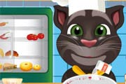 game Talking Tom Cooking Class
