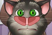 game Talking Tom. Nose Doctor