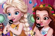 game Toddler Princesses Slumber Party