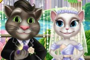 game Tom And Angela Wedding Kiss