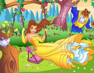 Game 3D Disney Princess Jigsaw Puzzle