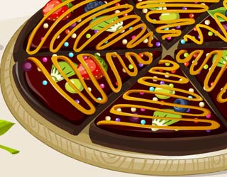 Game Addicted to Dessert: Brownie Pizza