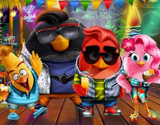 game Angry Birds Summer Break